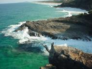 Asisbiz Textures Water h2o shoreline coastal rocks cliff 05