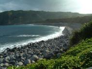 Asisbiz Textures Water h2o shoreline coastal rocks cliff Basco 01