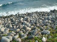 Asisbiz Textures Water h2o shoreline coastal rocks cliff Basco 02