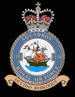 RAF 118Sqn emblem