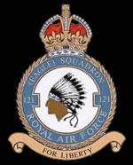 RAF 121Sqn emblem