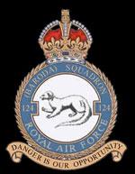 RAF 124Sqn emblem