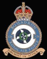 RAF 126Sqn emblem