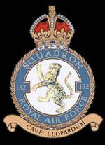 RAF 132Sqn emblem