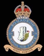 RAF 136Sqn emblem