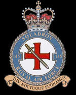 RAF 145Sqn emblem