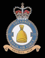 RAF 152Sqn emblem
