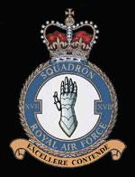 RAF 17Sqn emblem