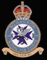 RAF No 185 Squadron Crest