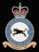 RAF 222Sqn emblem