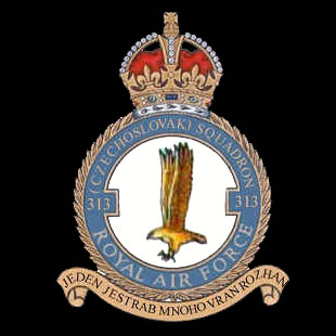 RAF No 313 (Czechoslovak) Squadron emblem