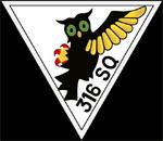 RAF 316Sqn emblem