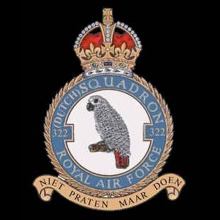 RAF No 322 (Dutch) Squadron emblem RAF