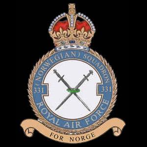 RAF No 331 Norwegian Squadron emblem RAF