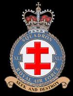 RAF 41Sqn emblem