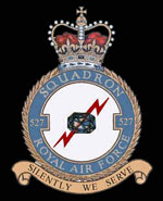 RAF 527Sqn emblem