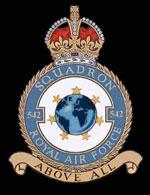 RAF 542Sqn emblem