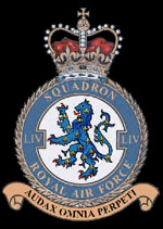 RAF No 54 Squadron Crest