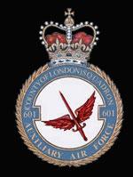 RAF 601Sqn emblem