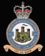 No 603 (City of Edinburgh) Squadron emblem