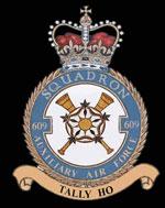 RAF 609Sqn emblem