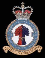 RAF 610 (County of Chester) Squadron Crest
