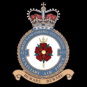 RAF No. 611 West Lancashire Squadron Crest