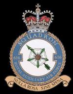 RAF 616Sqn emblem