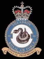 RAF 66Sqn emblem
