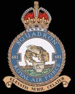 RAF 681 Squadron Crest