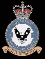 RAF 71Sqn emblem