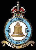 RAF 80Sqn emblem