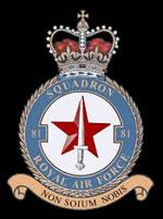RAF 81Sqn emblem