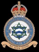 RAF 91Sqn emblem