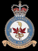 RAF No 92 (East India) Squadron emblem