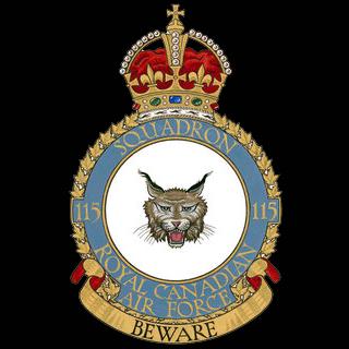 No. 115 Squadron RCAF