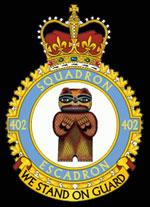 emblem RCAF 402Sqn emblem