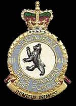 emblem RCAF 411Sqn emblem