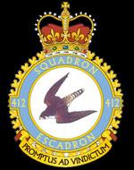 emblem RCAF 412Sqn emblem