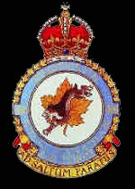 RCAF No. 416 (City of Oshawa) Squadron Crest