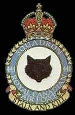emblem RCAF 441Sqn emblem
