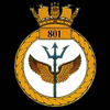 emblem Royal Navy 801NAS