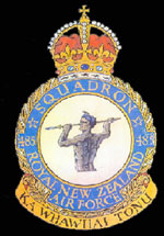 RNZAF 485Sqn emblem