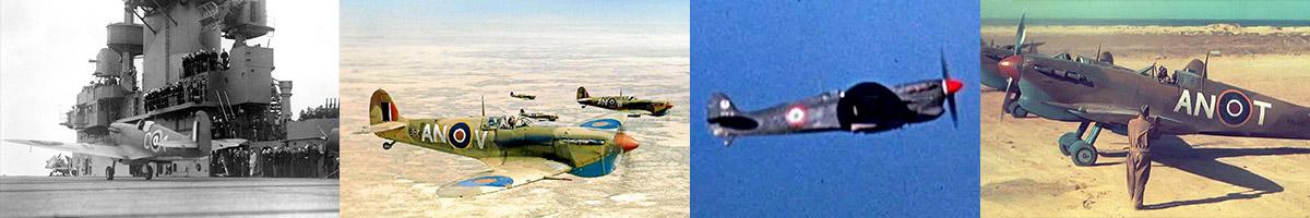 Header Spitfire Mk V/Trop's