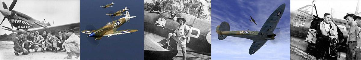 Header Spitfire MkVIII's
