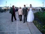 Asisbiz Russia Saint Petersburg Street Scenes Wedding 2005 03