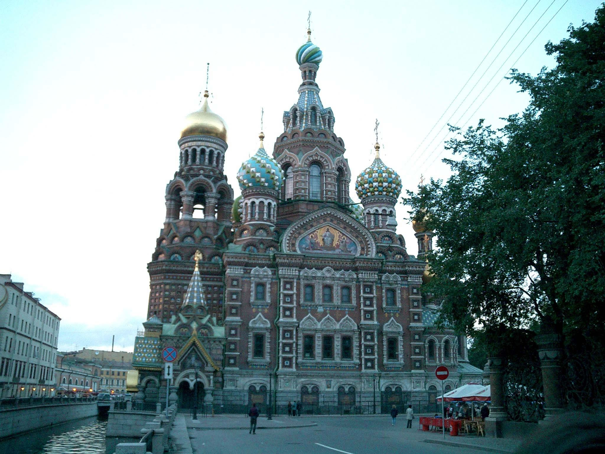 St Petersburg Architecture Church of the Savior on Blood 2005 03