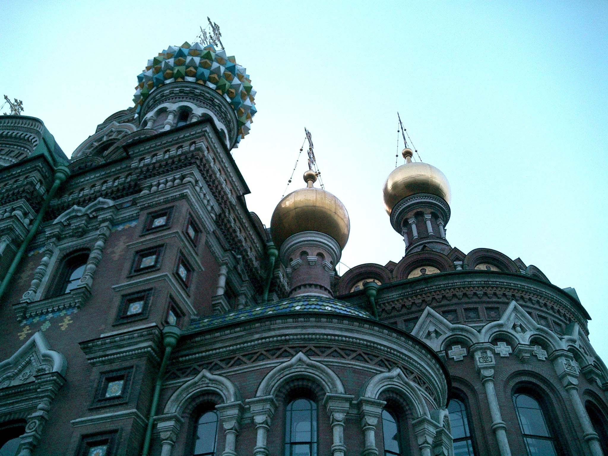 St Petersburg Architecture Church of the Savior on Blood 2005 06
