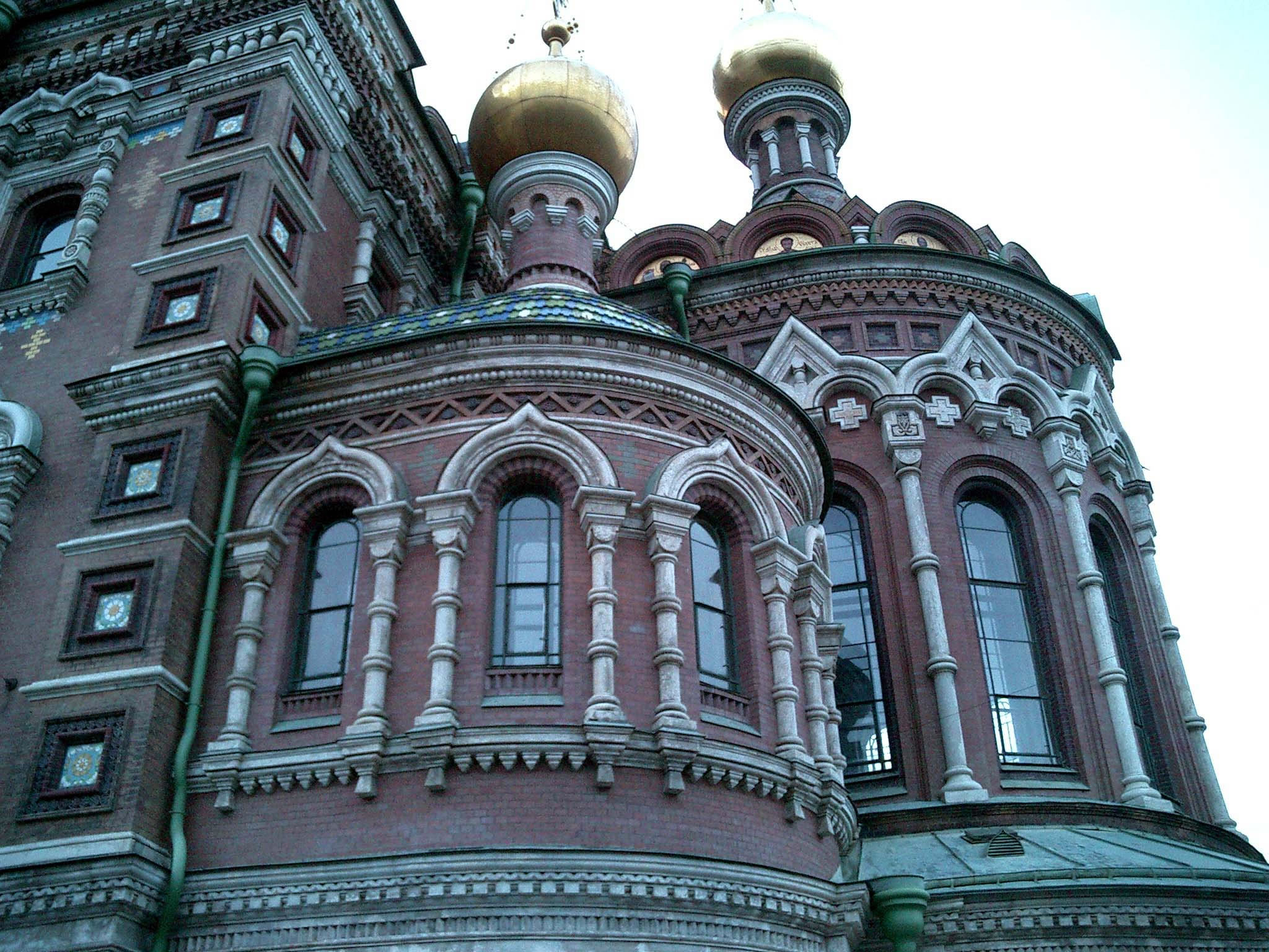 St Petersburg Architecture Church of the Savior on Blood 2005 07