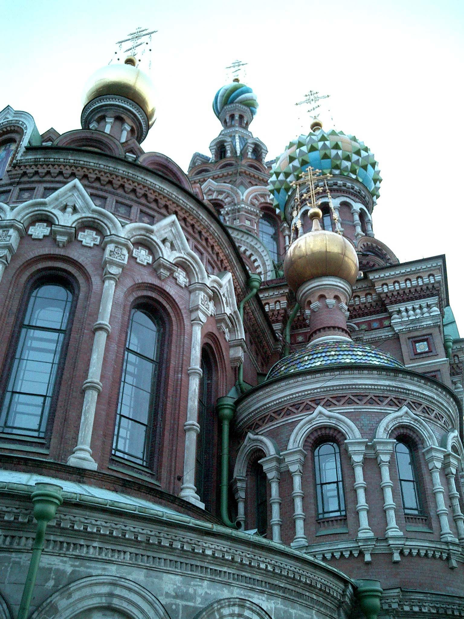 St Petersburg Architecture Church of the Savior on Blood 2005 12
